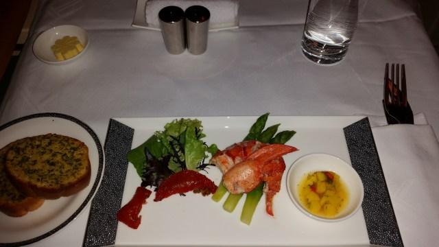 singapore a380 suites food