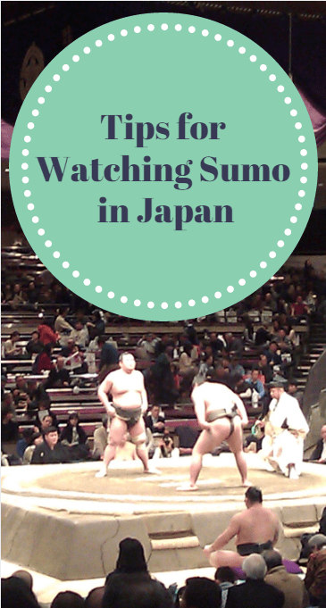 tips for watching sumo in tokyo japan
