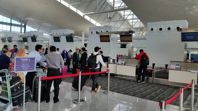 singapore business class brunei international airport