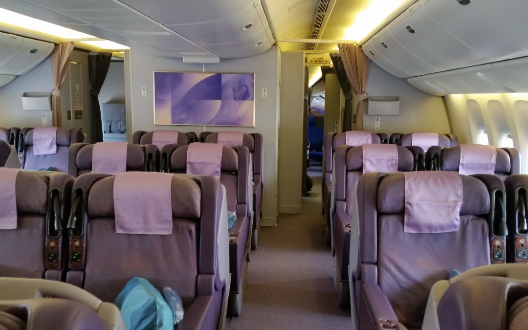 Review: Singapore Airlines Business Class, BWN – SIN