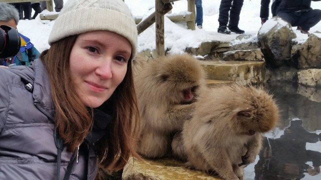Jigokudani snow monkeys japan