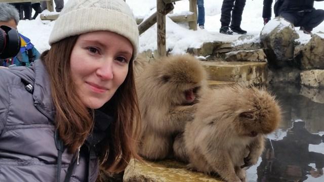 Jigokudani snow monkeys japan
