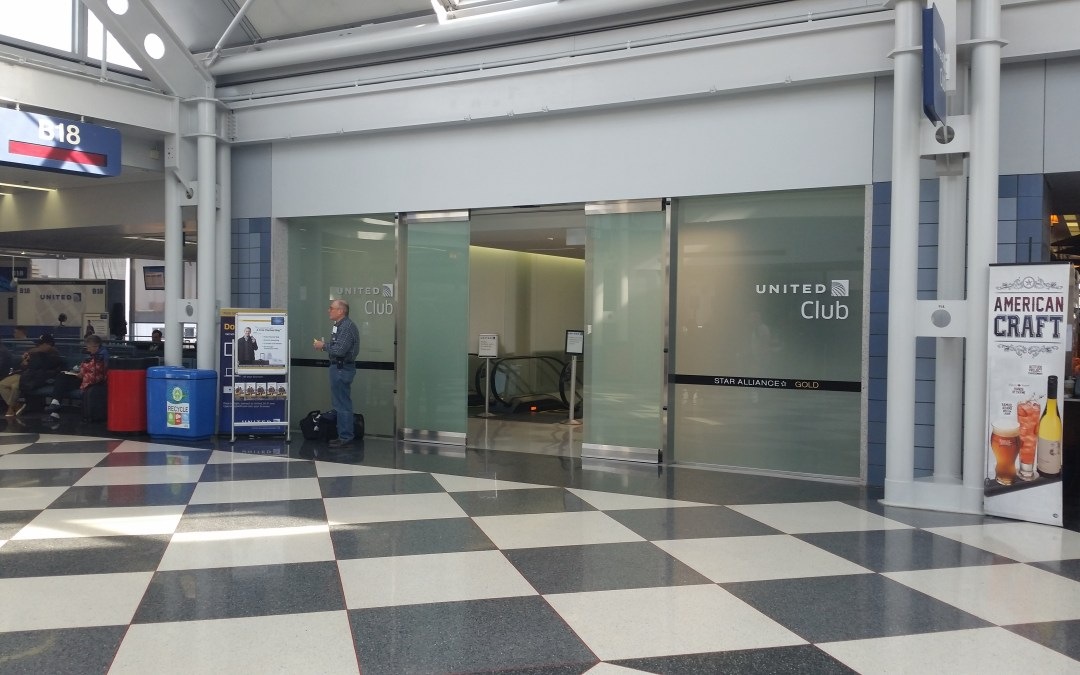 Review: United Club Lounge (Near Gate B18) – Chicago O'Hare