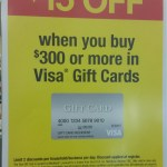 Instant Discount Off Purchase of Visa Gift Cards at OfficeMax/Office Depot (10/9/16-10/15/16)