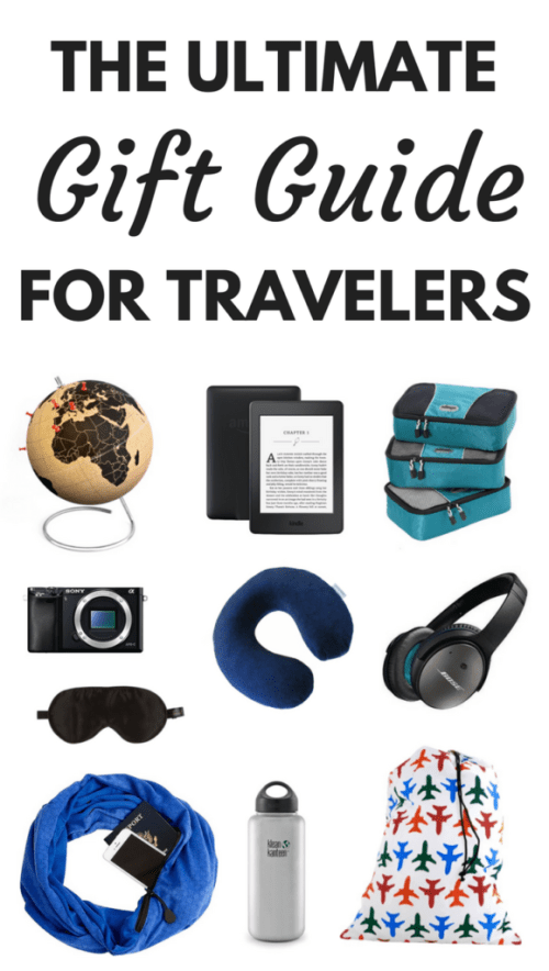 The best gifts for travelers for every budget. ***********************Best Travel Gifts   Travel Gifts Ideas   Practical Travel Gifts   Travel Gifts for Women   Travel Gifts for Men   Wanderlust Travel Gift   Travel Gift Women   Travel Gift Men   Gifts for Travelers   Travel Gifts   Birthday Gifts for Travelers   Unique Travel Gifts   Holiday Gifts for Travelers   Christmas Gifts Ideas   Gifts Travel Ideas Present   #giftguide #giftideas #travelgifts #giftsfortravelers