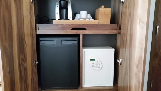 Hyatt Centric Waikiki Beach mini refridgerator