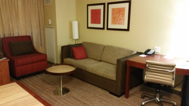 residence inn sacramento California review