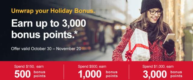 southwest rapid rewards online shopping portal holiday bonus 2017