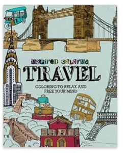 coloring books are cool travel gifts for christmas