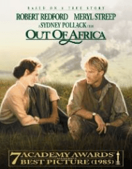 out of africa is a great movie about travel