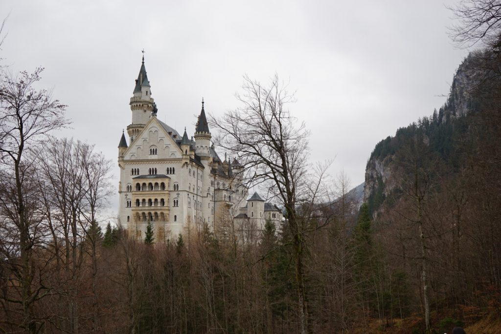 Neuschwanstein from Munich