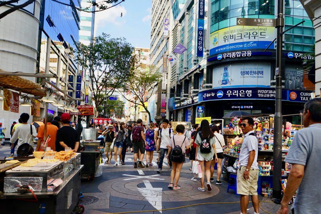 Myeongdong Stalls