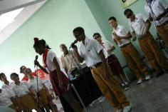 school for the blind band