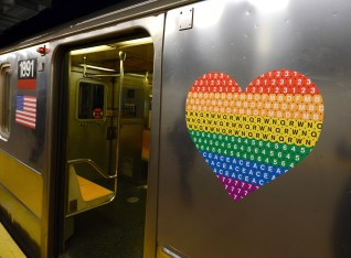 MTA NYC Transit ride with pride, 2019