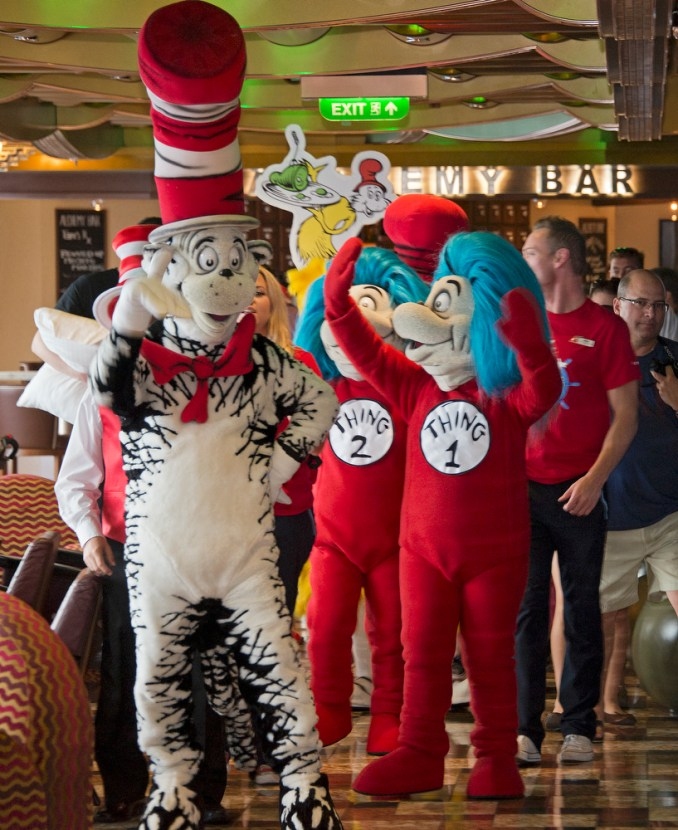 Carnival Freedom adds Seuss at Sea