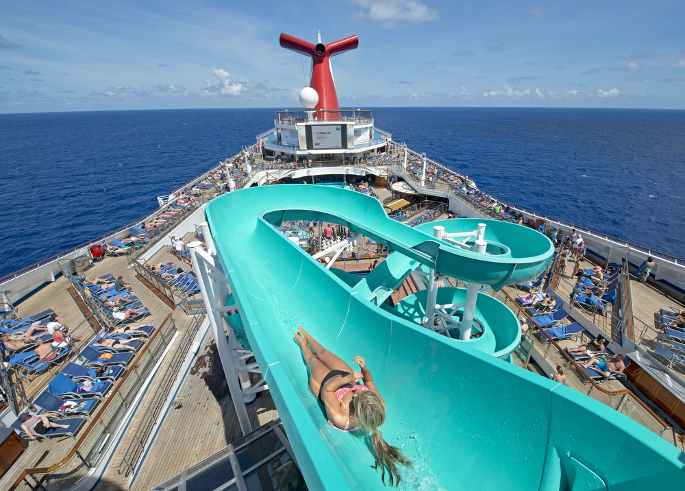 I love to cruise on Carnival Freedom.