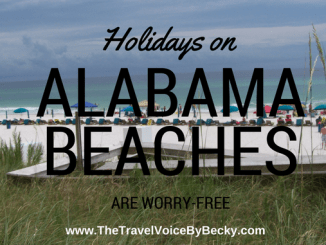 Holidays on Alabama Beaches