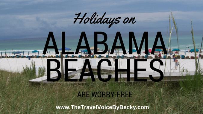 Holidays on Alabama Beaches