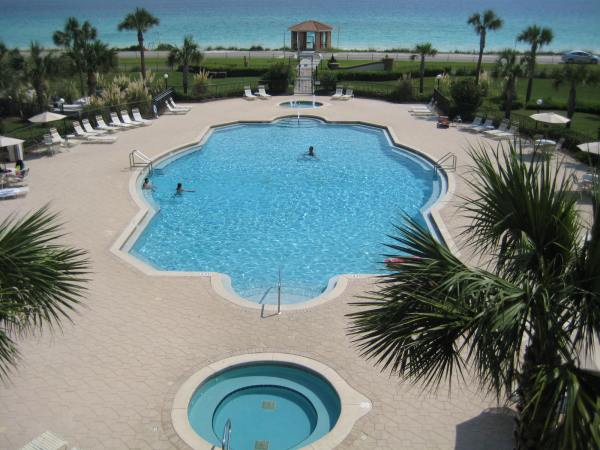 Pool at Mediterranea Resort in Destin, FL