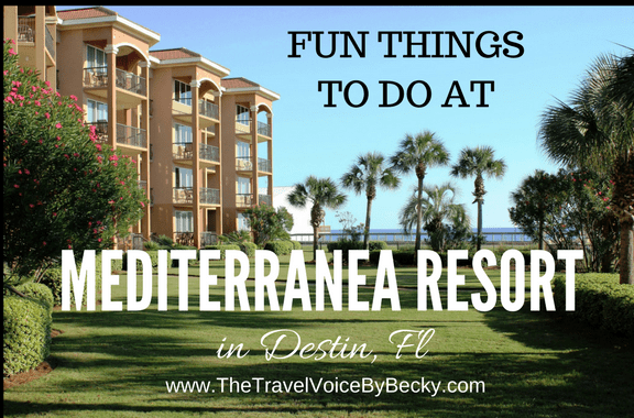 Mediterranea Resort in Destin, FL