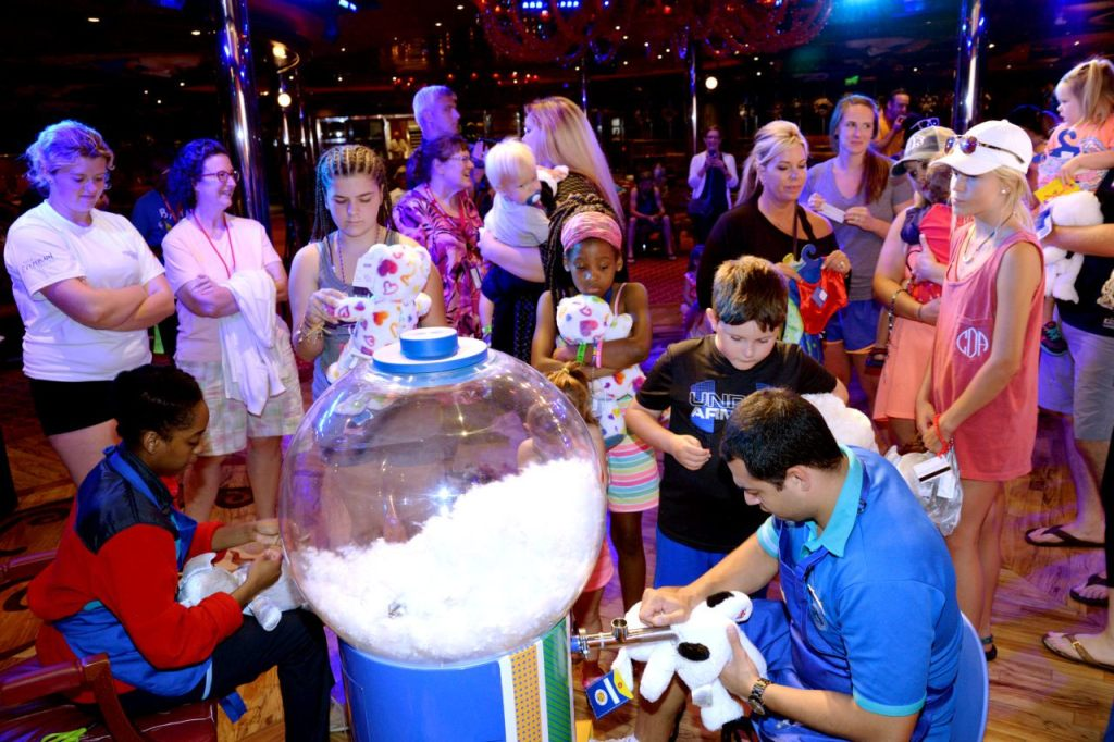 Build-A-Bear Workshops on Carnival