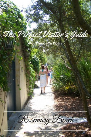 Things to do in Rosemary Beach pinterest image