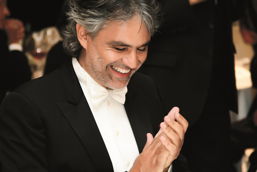 ANDREA BOCELLI CREDIT MAX BALLANTI for MSC Seaside