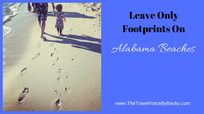 Leave Only Footprints - Gulf Shores