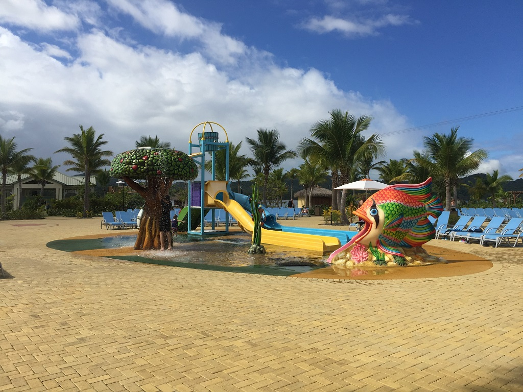 Amber Cove Kids Water Park - cruising the Caribbean with Carnival