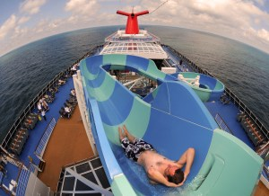 Fun on the Lido Deck. Courtesy of Carnival Cruise Line