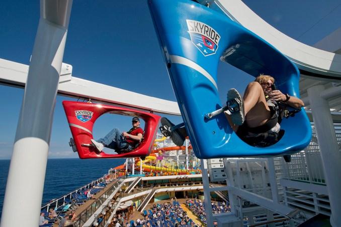 Carnival Vista SkyRide Aerial Attraction