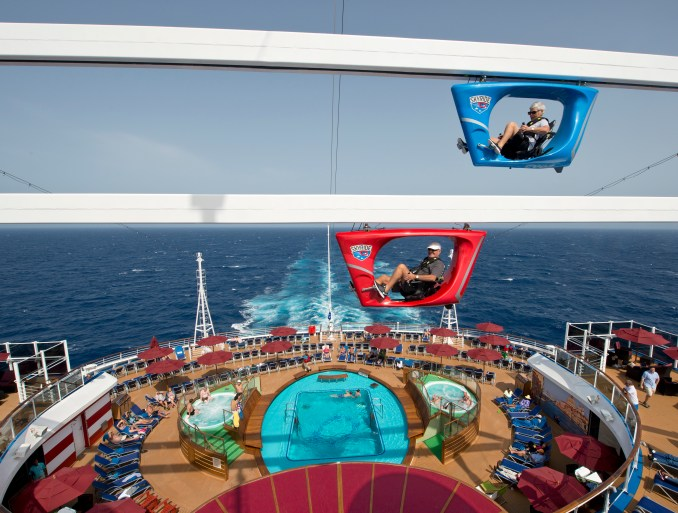 Carnival Cruise Line Vista Sky Ride