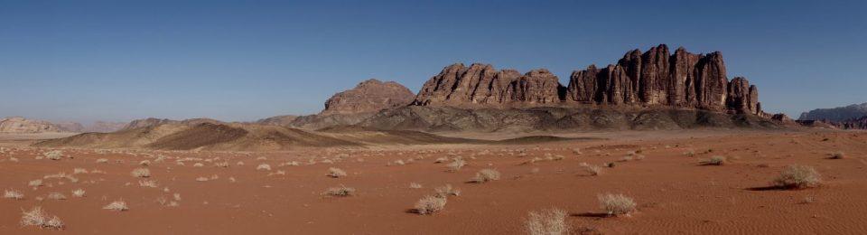 "JORDAN: Wadi Rum – ""Lawrence of Arabia"" filmed here in 1961."