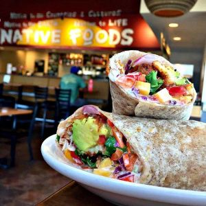 Avocado Crunch Wrap by @nativefoods!
