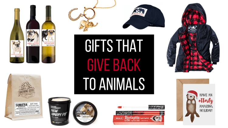 GIFTS THAT GIVE BACK TO ANIMALS4