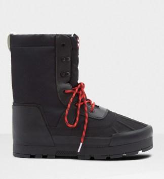 hunter men's original vegan snow boot
