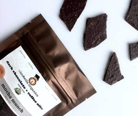 nicobella vegan dark chocolate coffee