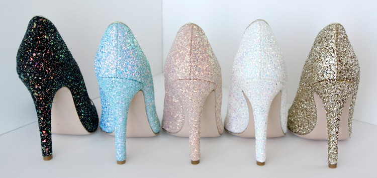 Mink vegan shoes custom designer pumps glitter