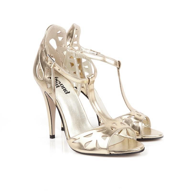 beyond skin vegan wedding bridal shoes lily_gold_3_1