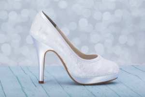 etsy vegan non-leather wedding bridal shoes pumps