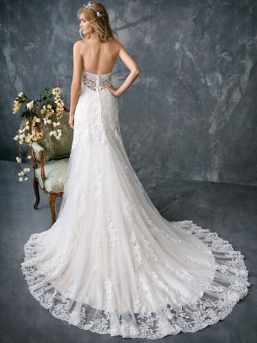 kenneth winston vegan wedding dress silk-free