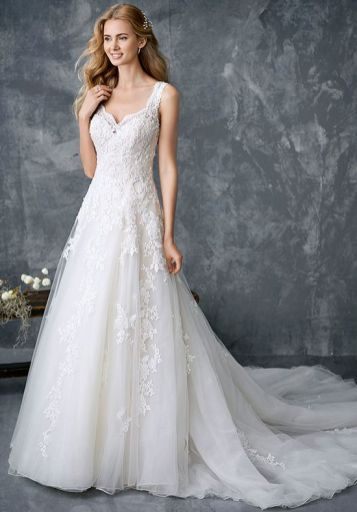 kenneth winston vegan wedding dress
