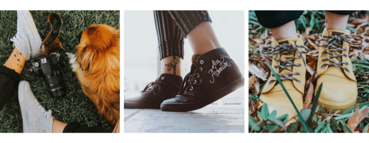 vegan shoes boots vegan fashion bangs sneakers