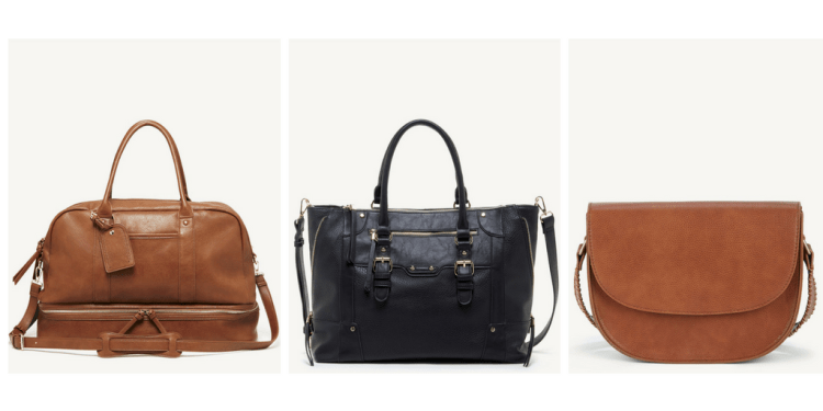sole society vegan travel bags faux leather