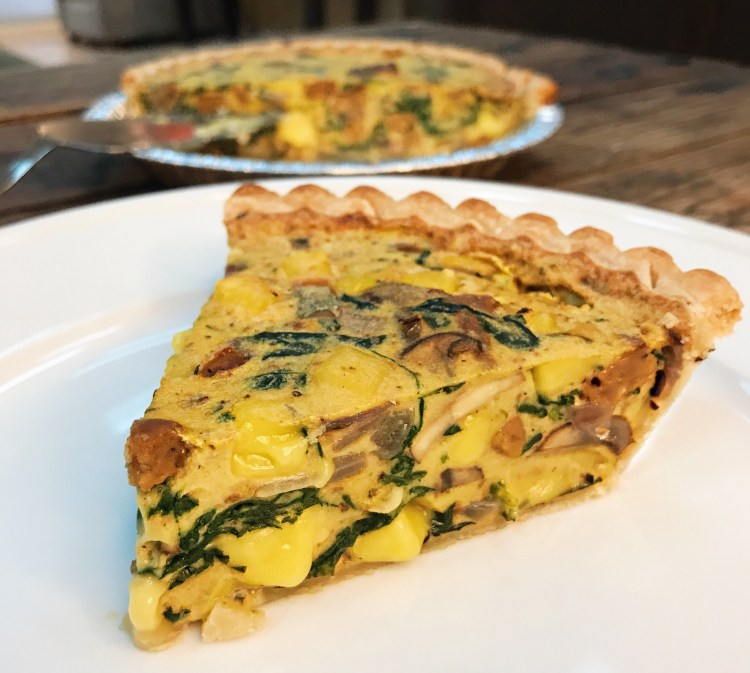 Vegan Quiche with Follow Your Heart VeganEgg