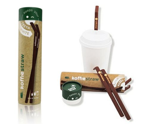 koffie straw coffee reusable silicone eco-friendly sustainable
