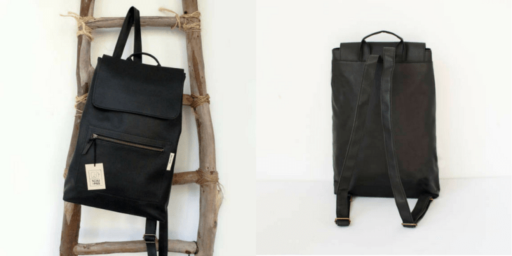 vegan bags on etsy backpack faux leather