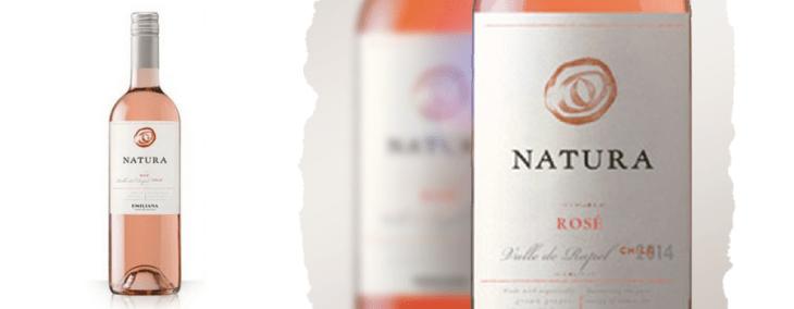 vegan wines natura rose