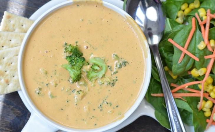 vegan vitamix recipes broccoli-cheese-soup