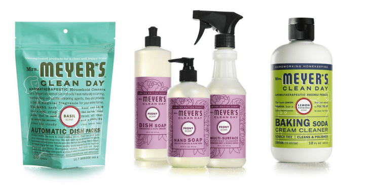cruelty-free cleaning producs guide vegan mrs. meyer's